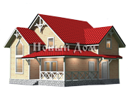 Каркасные дома под ключ, проекты каркасных домов по недорогим ценам