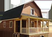 Дома из бруса под ключ проекты и цены недорого